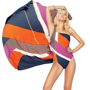 Gottex Maritime One Piece Asymetrical Swimsuit 12